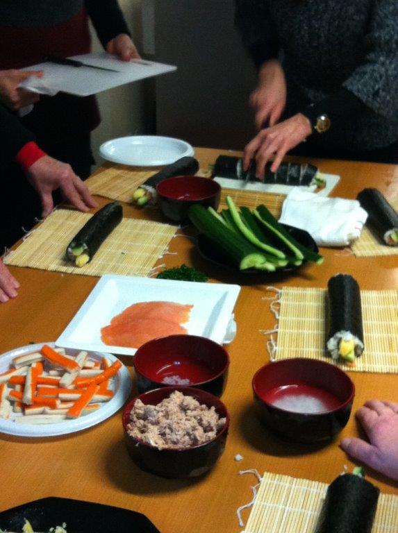 Atelier Cuisine Sushi 3